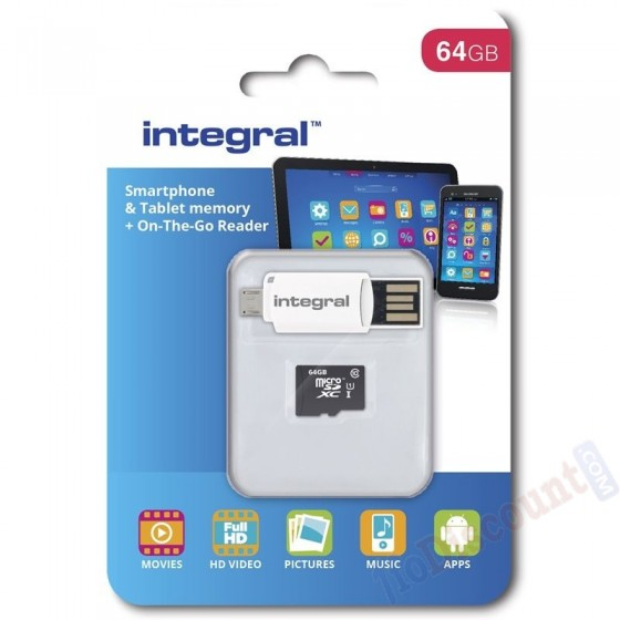 CARTE MEMOIRE MICRO SD64GB...