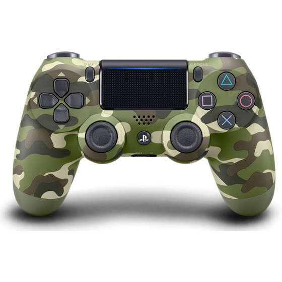 MANETTE SONY PS4 OFFICIELLE DUALSHOCK 4 GREEN CAMO