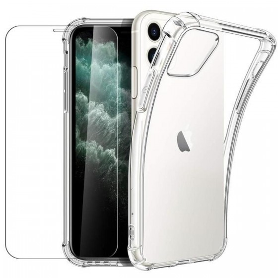 COQUE 360 PLEXIGLASS IPHONE 11 PRO