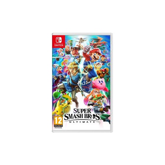 SUPER SMASH BROSS ULTIMATE NINTENDO SWITCH