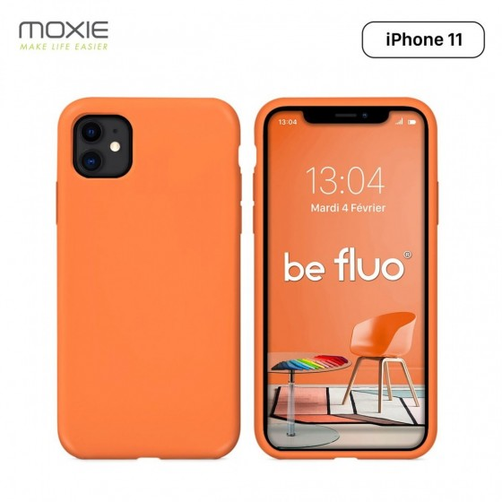 IPHONE 11 COQUE BE FLUO PAPAYE