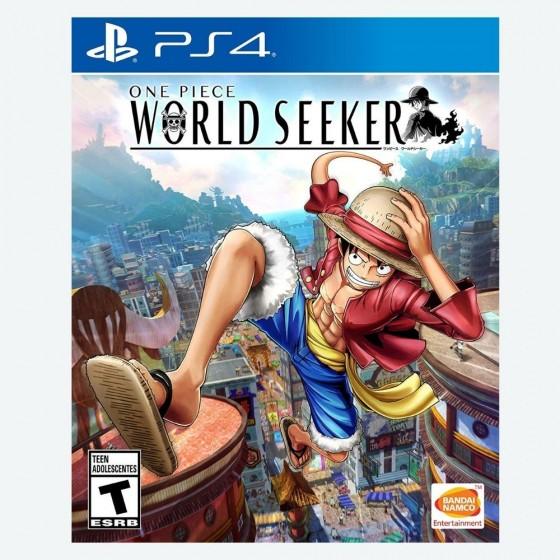 ONE PEACE : WORLD SEEKER PS4