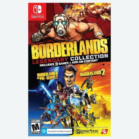 BORDERLANDS LENGENDARY COLLECTION Nintendo Switch