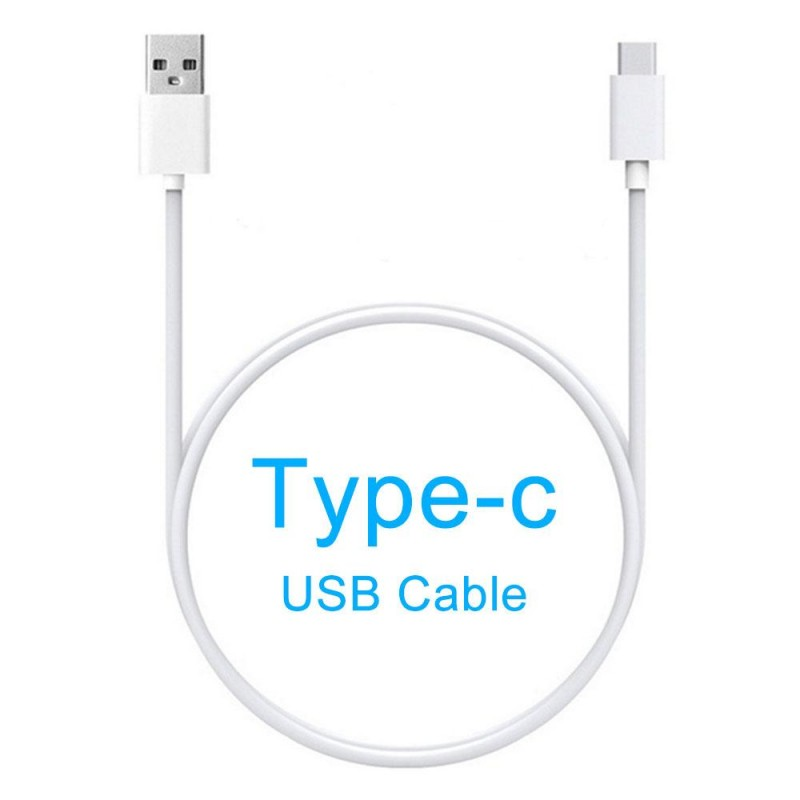 CABLE USB TYPE C COMPATIBLE BLANC